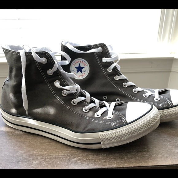 Converse Shoes | Gray Hitops Size 13